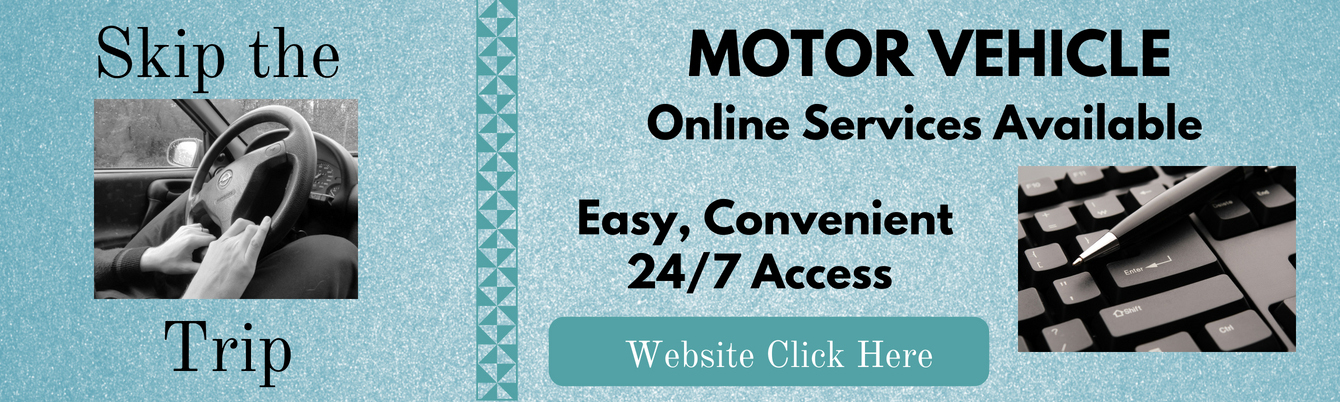 Use online Motor Vehicle Services