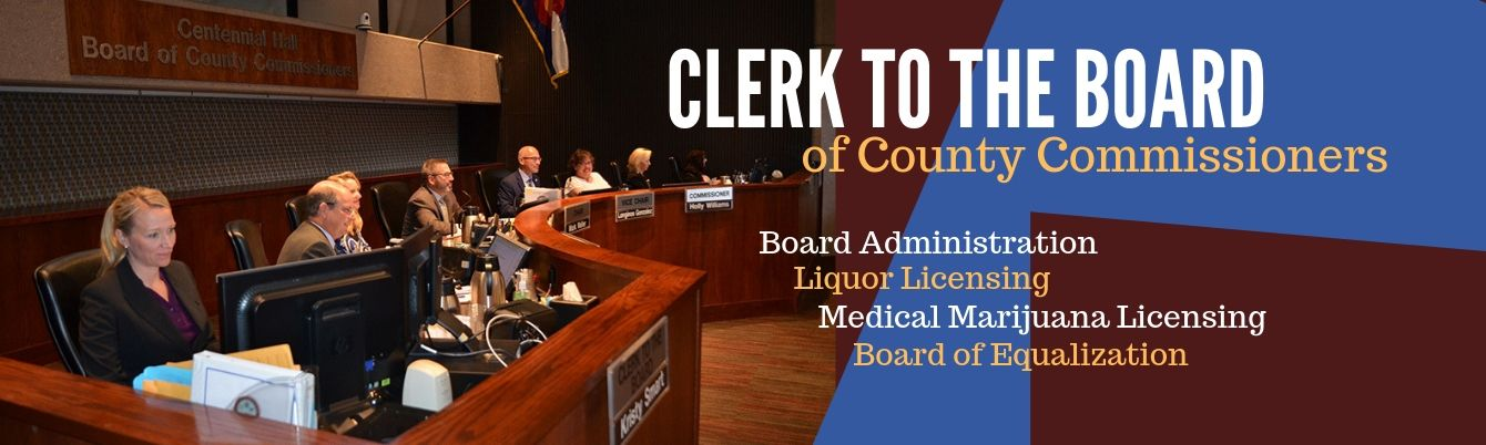 Clerk to the Board of County Commissioners Department