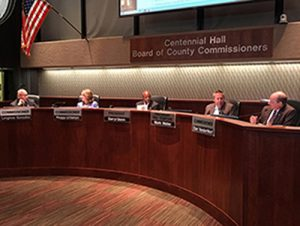 Board of County Commissioners Dais