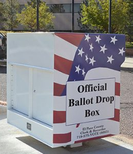 Ballot Drop-Off Box