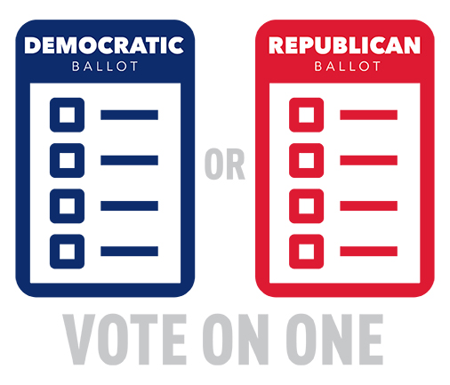 Unaffiliated Voters - Vote One Ballot