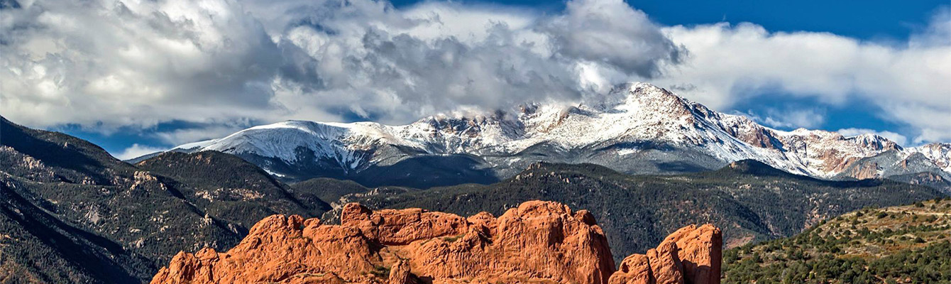 Kissing Camels and Pikes Peak by Karen Logan